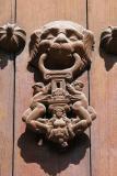 Door knocker, Plaza de Armas