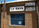 La Raya, highest pont on the line