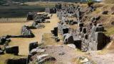 The Inca site of Sacsayhuamán