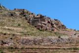 Military ruins near Intihuatana