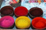 Paints, Pisac market