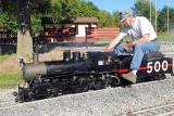 Tim & his engine