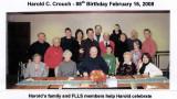 Harold Crouch's Birthday