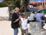 Roberto and I, Playa del Carmen, Mexico