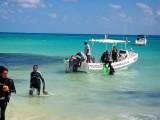 Dive Boats, Playa del Carmen, Mexico