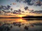 Northern Minnesota sunset