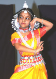 Classic Odissi gestures personified...