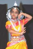 Uma's First Solo Odissi Dance Performance