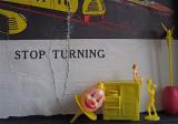 Stop turning