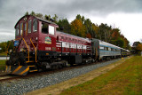 Foliage Train Tour