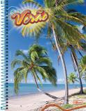 Capa Caderno Tilibra Coleção verão  2009 - Praia dos Patachos, São Miguel dos Milagres, Alagoas