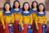 Artesanato de Santa Catarina, Personagem do Boi de mamÆo, Maricota, ArtesÆ Dona Adelina, Santa Catarina, 8582