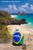 Mirante do Forte do Boldró, Praia do Americano primeiro plano, Fernando de Noronha, Pernambuco 8436 090915