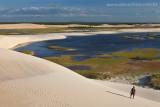 Laguinho do Torta em Tatajuba, visto da duna do funil, Camocim, Ceara, 2791