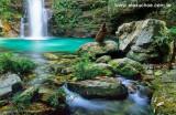Cachoeira de Santa Bárbara, Chapada dos Veadeiros-GO