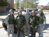 1st Lt Campbell, Bob Searl, Sr, LTC Middleton, Bob Searl, Jr, Capt. Forrest