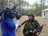 TV Station Interview - WWI Veteran  [age 88] - Bob Searl, Sr