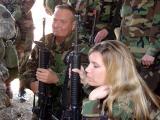 Bob Searl, Jr,  Squad Leader & Tamera TooGood,- Platoon Leader