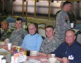 1Lt Campbell - Bob Searl, Sr. -  Capt. Forrest - Bob Searl, Jr