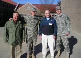 Bob Searl, Jr - Capt. Forrest - Bob Searl, Sr - 1Lt Campbell