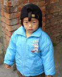 About 2 years old, and already he can say Wu Bai