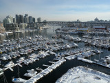 Vancouver view from Burrard street bridge
