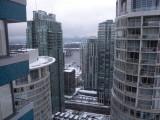 Vancouver Blue Horizon hotel room 2902 view