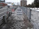 Montreal Jacques Cartier bridge closed
