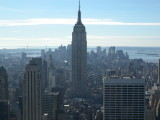 New York City view from Top Of The Rock