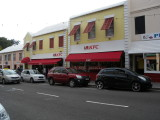 Hamilton the only fast food franchise in Bermuda