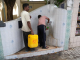 Male desalinated water station