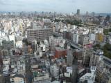 Osaka Tsutenkaku Tower view