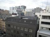 Osaka view from Hearton Hotel Minamisenba
