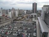 Osaka view from Namba Parks
