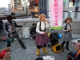 Osaka selling cd's
