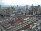 Osaka view from Umeda Sky Building