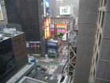 New York City Times Square from Edison hotel
