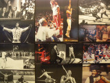 New York City MSG foyer montage of events held inside