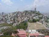 Guayaquil view from Cerrro Santa Ana