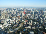 Tokyo view from tokyo city view  Roppongi Hills