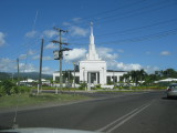 Apia on road to airport