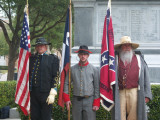 Confederate Heroes Day Celebration - Texas Capitol 2009