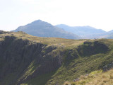 Top of the Band on Bowfell