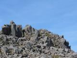 Rocky ridge near top of Bowfell