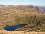 Angle Tarn from high on Bowfell