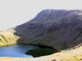 Angle Tarn and Bowfell