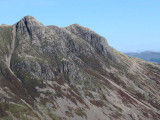 Pike of Stickle and Gimmer Crag from Rosset Gill