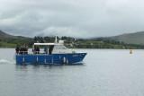 Lady B boat, Portree, Skye