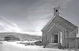 Church,  Bodie Nat'l. Monument