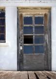 Ice house doorway  Haven, KS